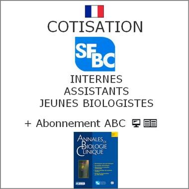 Cotisation SFBC Internes et Abonnement ABC