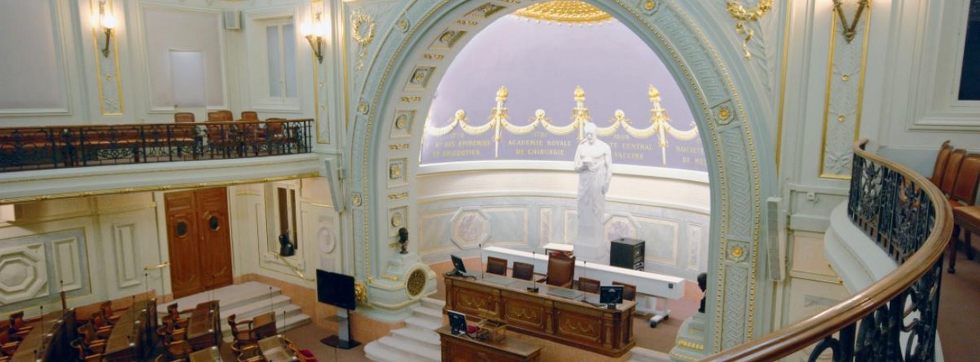Salles des séances - Académie de Médecine